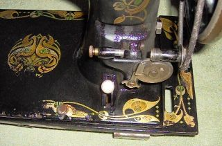 Treadle Sewing Machine Head With Bobbin