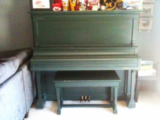 Hobart M.  Cable Upright Piano (1909) - Needs Refinished/restored photo
