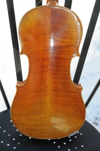 Antique Copy Of Antonius Stradivarius Made In Germany 4/4 Acoustic Violin photo