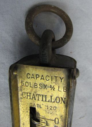 Uncommon Chatillon 50 Lbs Scale Could Not Find Another photo