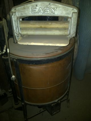 Make An Offer,  1912 Easy Copper Washing Machine,  Works,  Syracuse photo