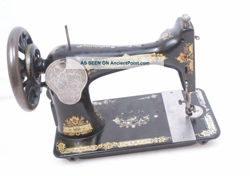 antique singer treadle sewing machine parts