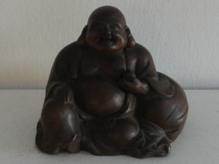 Fine Old Chinese Yixing Clay Buddha photo