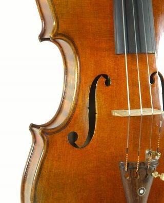 Sublime Italian Violin By Mario Capriani C.  1996 4/4 Old Antique Violino photo
