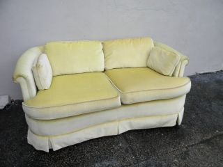 Low Mid - Century Kidney - Shape Love Seat /settee By Bassett 2852 photo