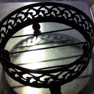 Unusual Antique Medium Bowl Trivet photo