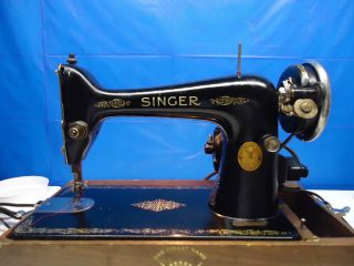 Singer 99 - Vintage - Heavy Duty Industrial Strength.  Perfect Stitch 1929. .  L@@@k photo