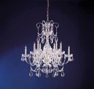 Crystal Chandelier W Clear Swarovski Strass Crystals 32