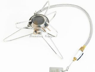 Out - D Camping Stove Gas Stove Split Stove 360g 2600w T3 photo
