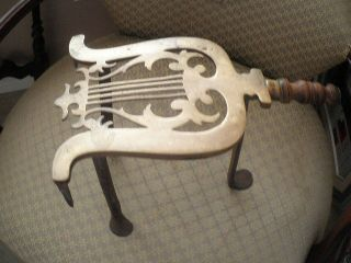 19th Century Fireplace Trivet photo