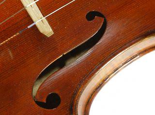 Magnificient Italian Violin By Nicola Ponti C.  1995 4/4 Old Antique Violino photo