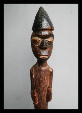 A Refined Altar Figure From The Yoruba Tribe Of Nigeria photo