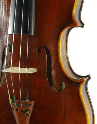 Fascinating Italian Violin By Nicola Ponti C.  1999 4/4 Old Antique.  Violino photo