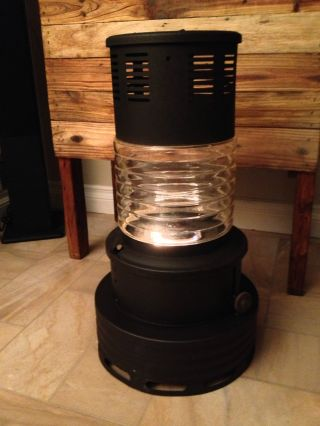 Vintage Sears Kerosene Heater Stove With Glass photo