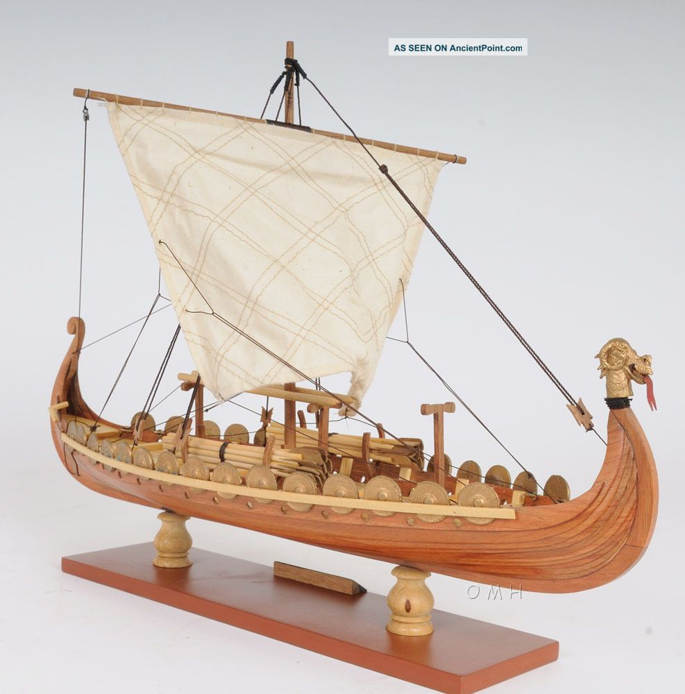 viking dragon ship model plans