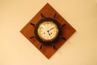 Vintage Schatz Eight - Day Royal Mariner Clock Made In Germany photo
