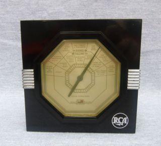 An Rca Taylor Instrument Companies Art Deco Bakelite Barometer - Circa 1920`s photo