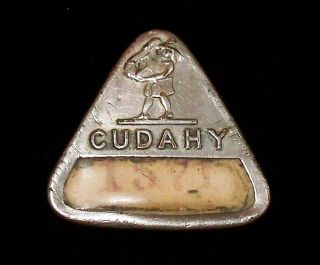 Old Vintage Badge Cudahy Employee By Whitehead And Hoag Meat Processing Plant photo
