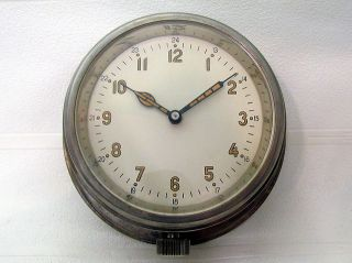 Vintage Military 1952 Russian Boat/ship Submarine Navy Cabin Clock Vostok 8 Days photo