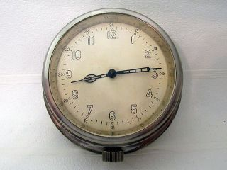 Vintage 1958 Military Russian Boat/ship Submarine Navy Cabin Clock Vostok 8 Days photo