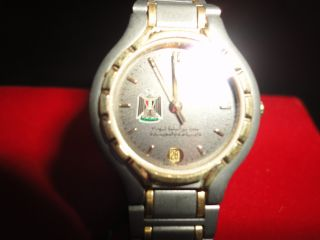A Specail Ladys Watch.  Iraq War With Iran Favre Leuba From War Remains photo
