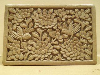 Antique C.  1900 Oriental Chinese Rare Lacquered Cinnabar Box photo