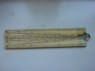 Antique Ruler Fold Out No Maker photo