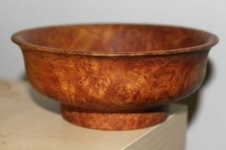 Antique Mongolian Burl Bowl.  19th C photo