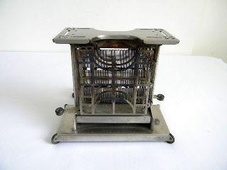 Vtg / Antique Landers Frary & Clark Universal Swing Door Toaster / It Works photo