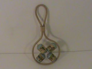 Patented 1916 Celluiod Baby Rattle  L@@k photo