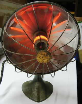 Vintage Chicago Electric Co.  Sterling Type Zub (working) Heater photo