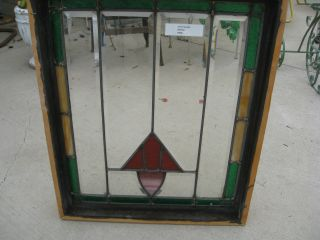Antique Stain Glass photo