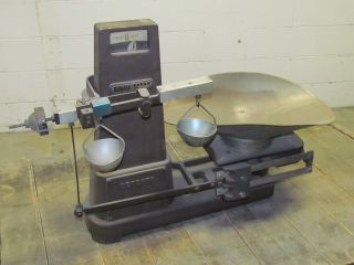 Detecto Scales Detecto Grain Large Vintage Bench Top Scales photo