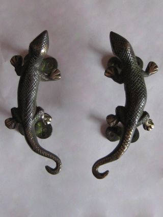 Lizard Brass Door Handle 5.  5