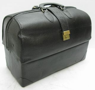 Leather Md Bag W/ Compartments By Professional Case And Combination Lock photo