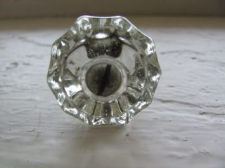 Vintage Glass Drawer Pull photo