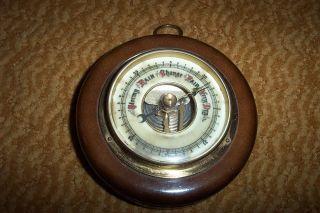Vintage West German Made Barometer - Still Working photo