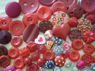 65 Buttons Lots Vintage Rhinestone New Glass Antique Czech Plastic Bakelite Sew photo