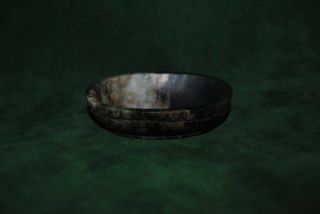 Rare Antique Mughal Jade Wine Cup Bowl Indo Persian Opium Cup Qing Dynasty photo
