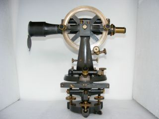 Excellent Cased Theodolite,  No.  10027 By Stanley,  1902 photo