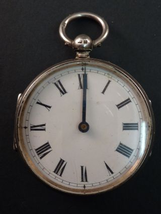 Silver Pocket Watch Style Pedometer photo