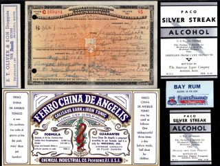 Aug 27 1925 For Colic Henry Roberts Prohibition Prescription Bar History photo