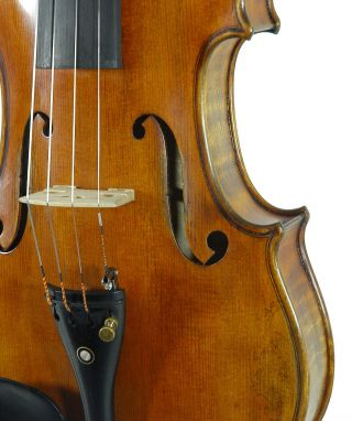 Impressive Italian Violin By Stephano Pacchiarini C.  1999 4/4 Old Antique Violino photo