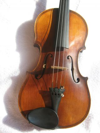 French Maggini Copy Violin Circa 1890 Solid Condition Play Ready photo