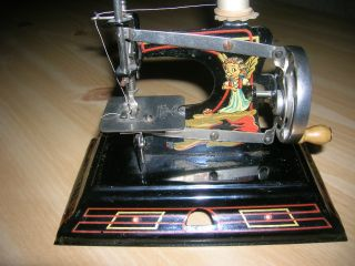 Rare Casige 121 Fairy Sewing Machine Made In Germany British Zone Excellent Cond photo
