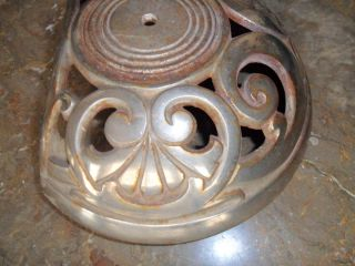 Antique Stove Part For Oak Garland Maybe Swing Top Cast Iron Marked photo