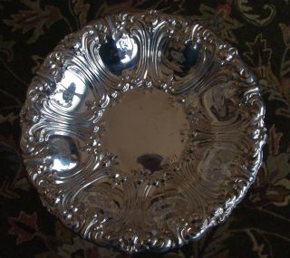 "Vintage Gorham Brand Versailles Pattern 12"" Silverplate Bowl Yc1756 photo"