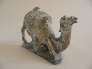Fine Estate Chinese Pottery Camel Burial Tomb Ceramic Animal Clay Horse Asia Big photo