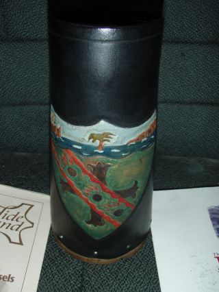 Rare 1805 Collection 35/250 Victory Boot Drinking Vessel Wood Hms Victory Nelson photo