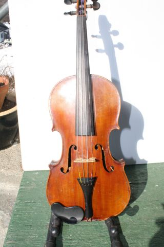 Chevrier De Paris Violin 1830 Good Condition photo